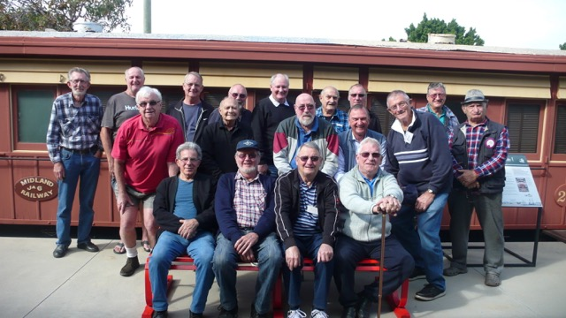 Bassendean Men's Shed members
